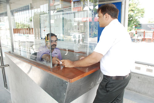 Ahmedabad BRTS - Ticket Counter