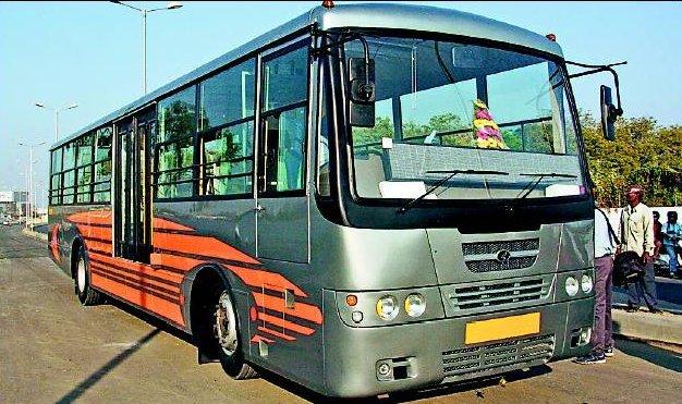 Ahmedabad - BRTS - Bus